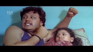 Boys Disturbs Ganesh and Amulya In Hostel | Comedy Scene | Cheluvina Chitthara Kannada Movie | Komal