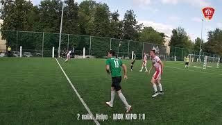 Лето 2021 Высшая лига 6 й тур 29 июня 2021 г Нейро МФК КПРФ 3 1 1 0