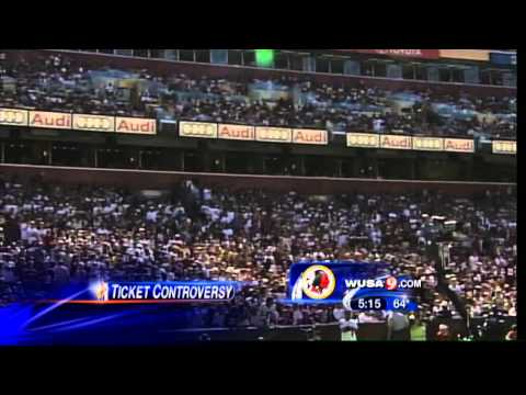 Redskins Ticket Controversy
