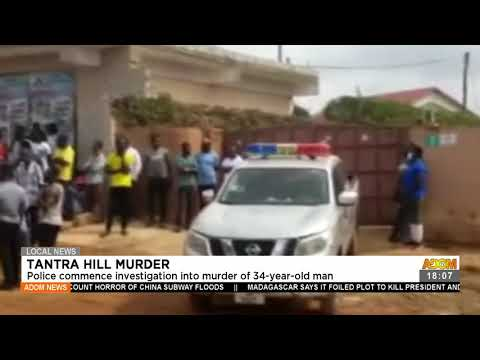 Police commence investigation into muꝚdeꝚ of 34-year- old man - Adom TV News (22-7-21)