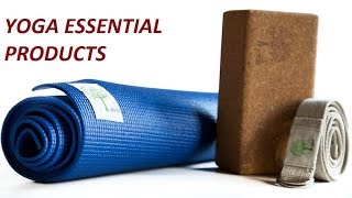 Top 6 Essential Yoga Products to buy | Buy yoga mats, equipment & yoga clothes | Best Yoga Mat
