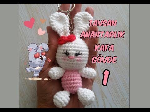 Bebek Anahtarlık Tarifi / Baby Keychain Pattern | Kroşe, Amigurumi ... | 360x480