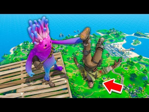 DO NOT LAUGH CHALLENGE! Fortnite Funny Fails and Troll Moments!