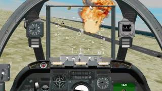 Sierra's Silent Thunder: A-10 Tank Killer II - Gameplay - Gulf - Mission 2: Retaking Khaji