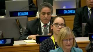 Omar Annakou, Ambassador, Mission of Libya to the United Nations