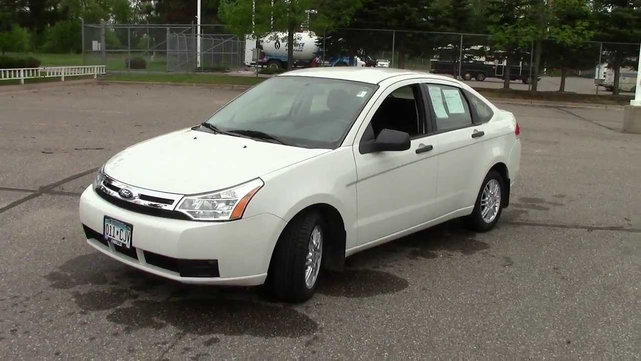 2009 ford focus se youtube