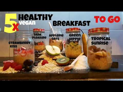 5x Easy Quick Healthy BreakFast ToGo!  |STUFF WITH FOOD