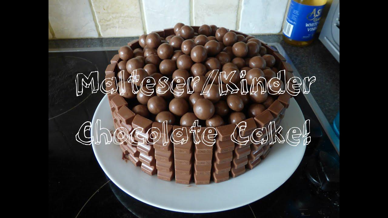 Gluten Free Malteser Cake
