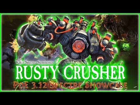 PoE 3.12 - Rusty Crusher Spectre Showcase | Heist Spectre