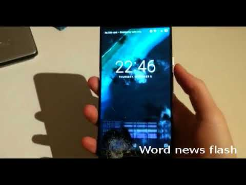 Video  Incredibly simple genius hack for mobile with broken screen world news flash