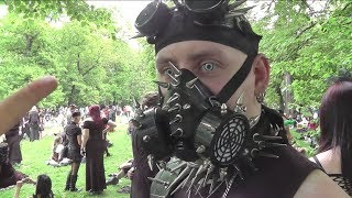 CYBERPUNK & CYBERGOTH - Which is your favorite SubCULTURE ? WGT 2013