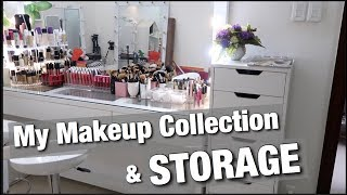 Tham Quan Phòng Makeup Mới Của Ty | My Makeup Collection and Storage 2018  [ Ty Lê }
