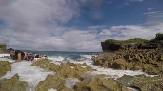 Epic Fail Getting knocked out by the ocean