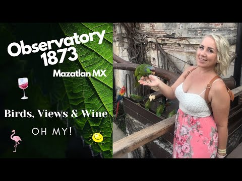 UNIQUE things to do in Mazatlan, Mexico Edition #2, Observatory 1873