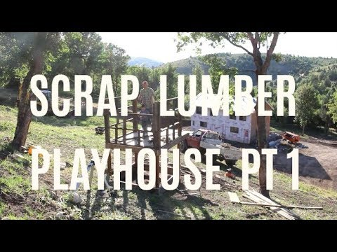 $100 DIY Tree House – 2.5 Years In The Making!