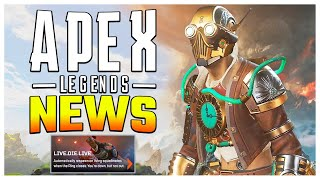 Apex Legends News! Server Patch + Live Die Live Mode + New Twitch Prime Skin