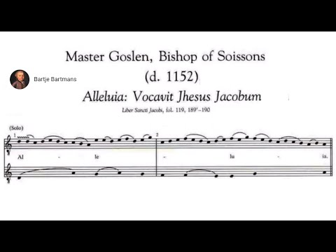 4. Music of the Middle Ages; Master Goslen, Bishop of Soissons