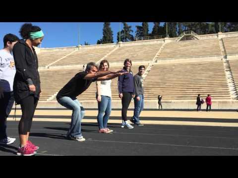 Ancient Greek Running Technique