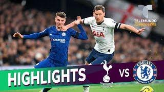 Gambar cover Tonttenham Hotspur vs. Chelsea: 0 - 2 Goals & Highlights | Premier League | Telemundo Deportes