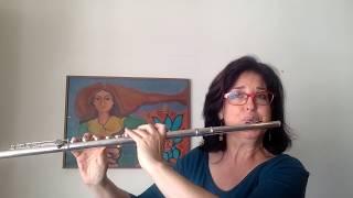 Willy Corrêa de Oliveira - Gesang des Abends (Sarah Hornsby, flute)