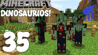 Minecraft SERIE DE MODS! SUPER DINOSAURIOS MADAFAKAS 2! Cap.35!