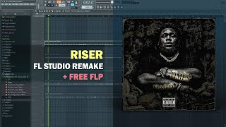 Rod Wave - Richer ft. Polo G (Instrumental) + Free FLP Remake
