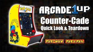 Arcade1UP Counter-Cade Quick Look & Teardown -  Pac Man