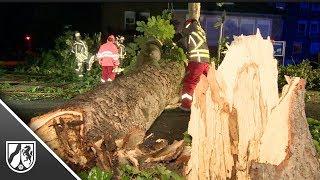 Tornado richtet in Bocholt schwere Schäden an