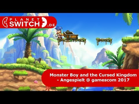 Monster Boy and the Cursed Kingdom (Switch) - Angespielt @ gamescom 2017 thumbnail
