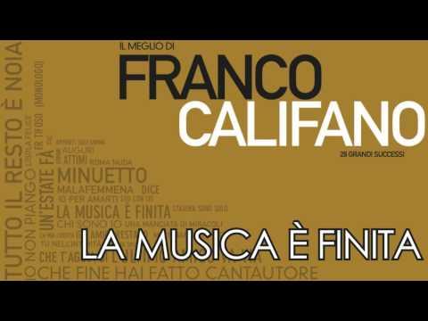 Franco Califano – La Musica è Finita – PROMO UFFICIALE