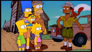 The Simpsons: The Simpsons go to africa [Clip] / Видео