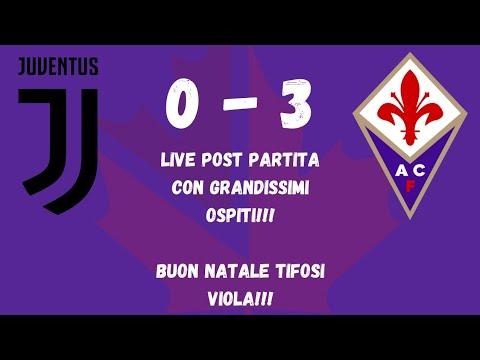 Juventus Buon Natale.Live Post Juventus Fiorentina Buon Natale Tifosi Viola Youtube