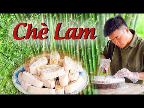 Download Buổi Chiều Thư Giãn Ngồi Ăn Chè Lam Uống Nước Trà Cùng Anh Nông Dân| Made From Ground Glutinous Rice