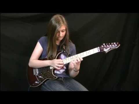 Van Halen - Eruption Guitar Cover by Tina S. mp3 letöltés