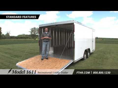 Featherlite Model 1611 ATV, Motorcycle, Car & Utility Trailer Tour