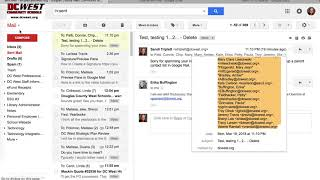 Creating Contact Lists in Gmail