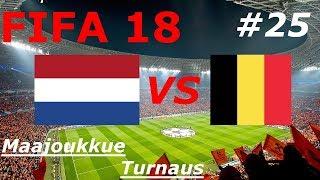 Fifa Maajoukkue Turnaus osa 25 Pronssiottelu | Hollanti vs Belgia