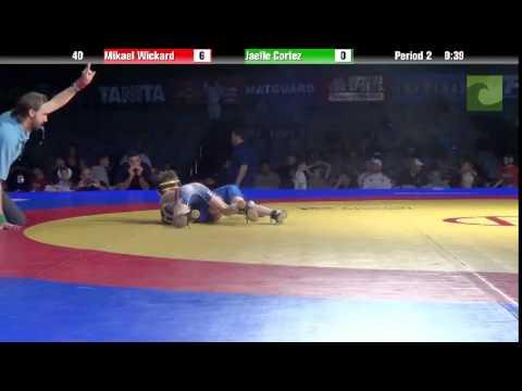 BANTAM 40 - Mikael Wickard vs. Jaelle Cortez