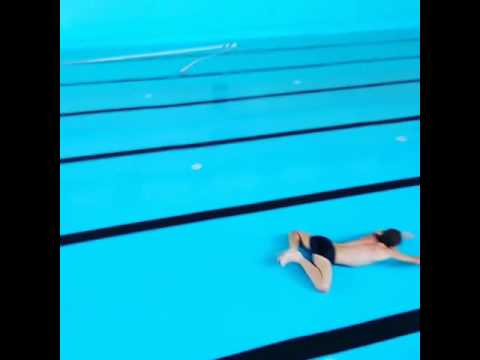 Swimming without water
