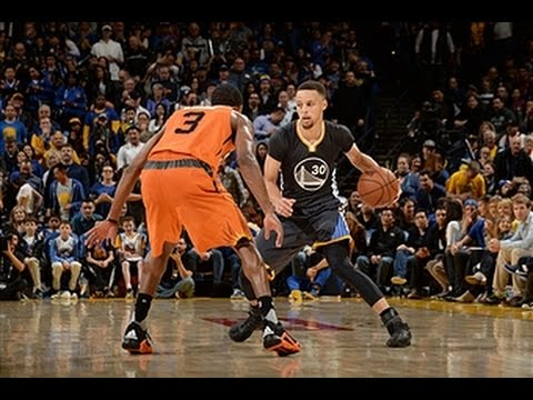 Stephen Curry Duels Brandon Knight
