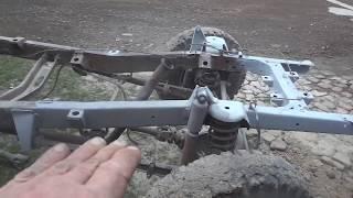 Пескоструй самодельный 2 рама УАЗ - 469