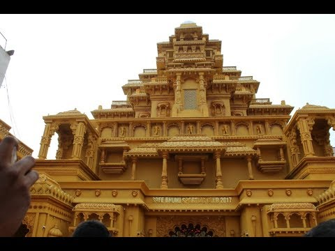 Top Durga Pandals | Bahubali Palace | North Kolkata | 2017 |DumDum