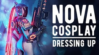 Nova Cosplay Transformation - Heroes of the Storm