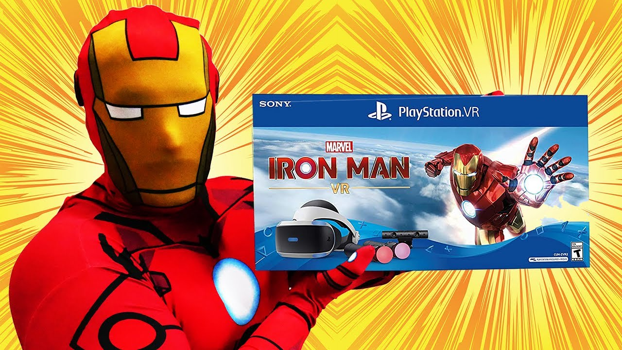 PlayStation VR Marvel's Iron Man VR Bundle - Unboxing | Setup | Gameplay