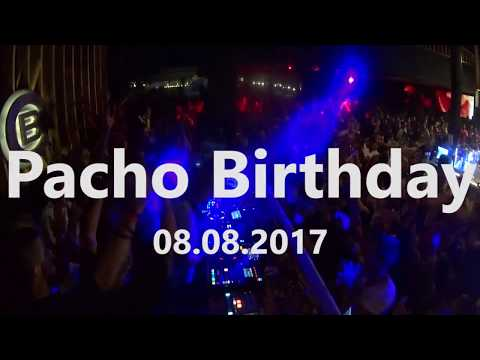 Pacho Birthday party 2017 at Cacao Beach, FULL 2h Video DJ set