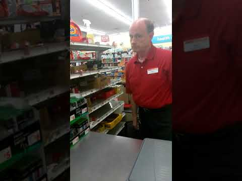 Family Dollar Manager Cussing Out Customer