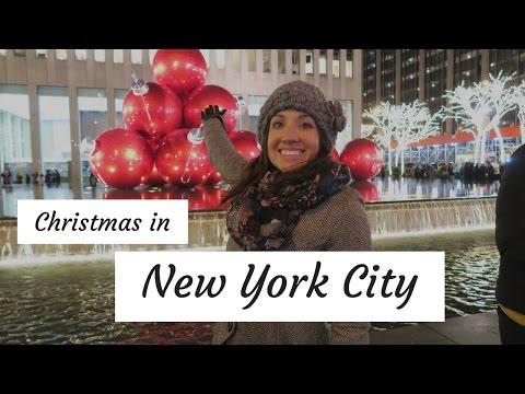 NEW YORK CITY AT CHRISTMAS II TRAVEL VLOG