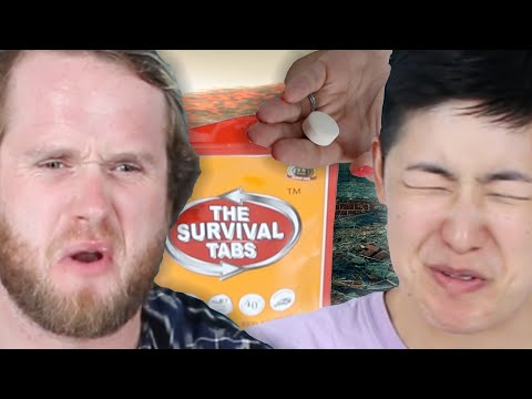 People Try Survival Food For The First Time