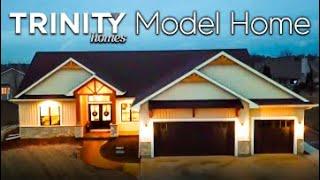 Model Home by Trinity Homes!