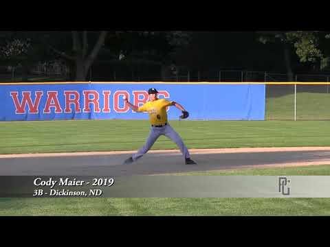 Cody Maier - 3B - Dickinson, ND - 2019
